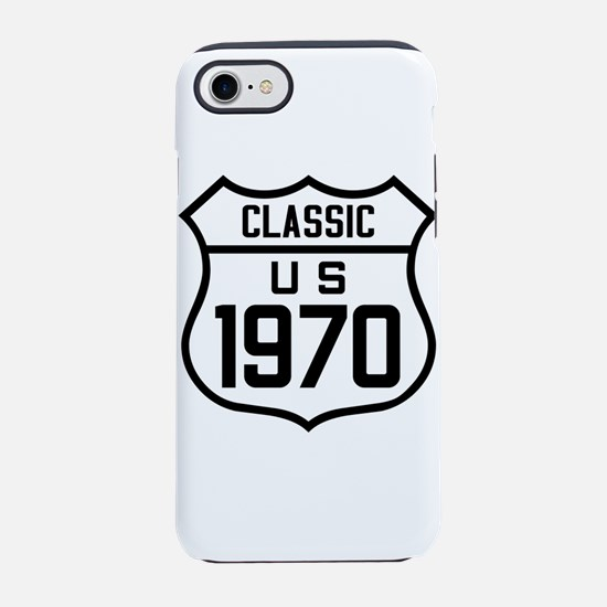 Classic US 1970 iPhone 7 Tough Case