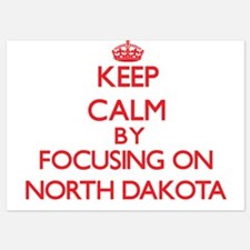 Keep Calm by focusing on North Dakota Invitations