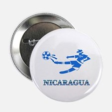 """Nicaragua Soccer Player 2.25"""" Button (10 pack)"""