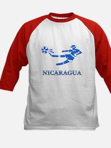 Nicaragua Soccer Player Tee