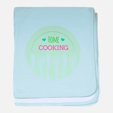 Home Cooking baby blanket