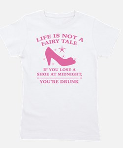 Life Is Not A Fairy Tale Girl's Tee