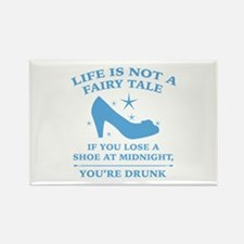 Life Is Not A Fairy Tale Rectangle Magnet