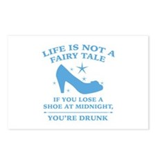 Life Is Not A Fairy Tale Postcards (Package of 8)