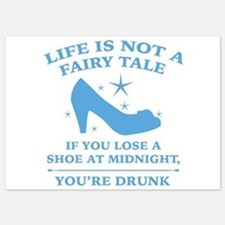 Life Is Not A Fairy Tale 5x7 Flat Cards