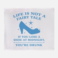 Life Is Not A Fairy Tale Stadium Blanket