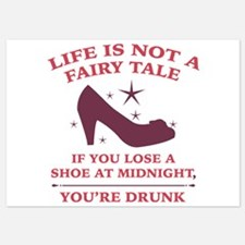 Life Is Not A Fairy Tale Invitations