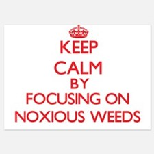Keep Calm by focusing on Noxious Weeds Invitations