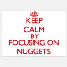 Keep Calm by focusing on Nuggets Invitations