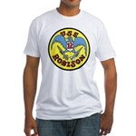 USS ROBISON Fitted T-Shirt