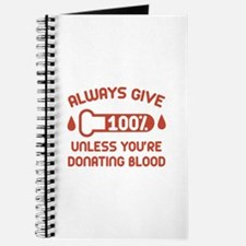 Always Give 100 Percent Journal