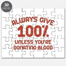 Always Give 100 Percent Puzzle