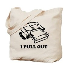 I Pull Out Tote Bag