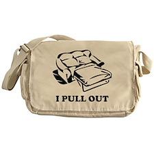 I Pull Out Messenger Bag