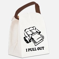 I Pull Out Canvas Lunch Bag