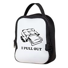 I Pull Out Neoprene Lunch Bag