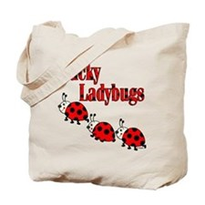 Lucky Ladybugs Tote Bag
