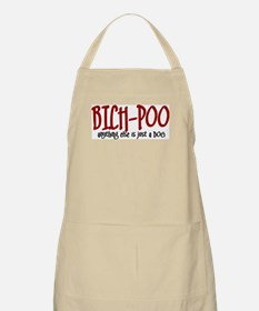 Bich-Poo JUST A DOG BBQ Apron