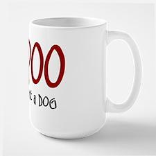 Bich-Poo JUST A DOG Mug
