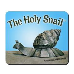 Holy Snail Mousepad