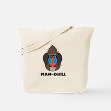 Man-Drill Tote Bag