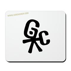 Official Godchecker Logo Mousepad
