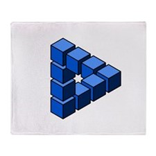 Impossible construction triangle of blocks Throw B