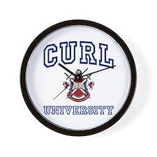 CURL University Wall Clock