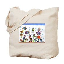 Cute Underwater Tote Bag