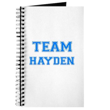 TEAM HAYDEN Journal
