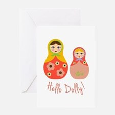 Hello Dolly! Greeting Cards