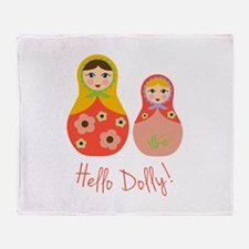 Hello Dolly! Throw Blanket