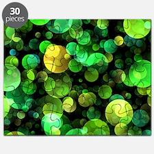 Green circles Puzzle