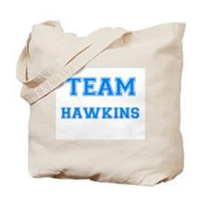 TEAM HAWKINS Tote Bag