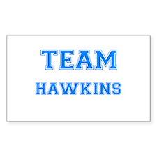 TEAM HAWKINS Rectangle Decal