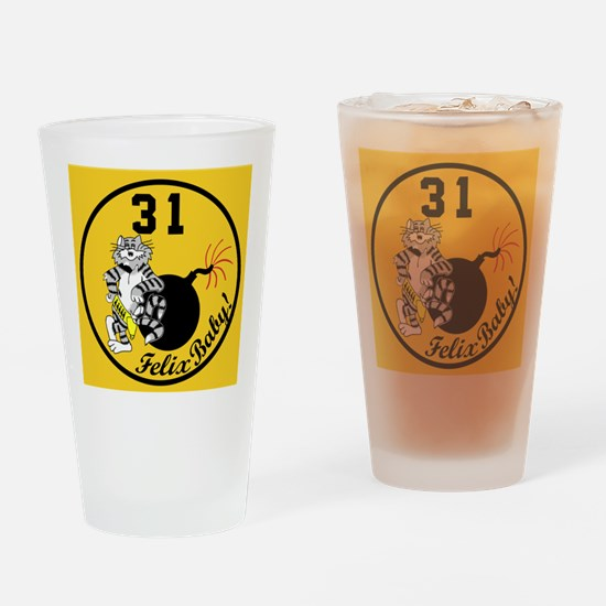 3-cat31.jpg Drinking Glass