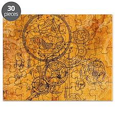 Clockwork Collage Puzzle