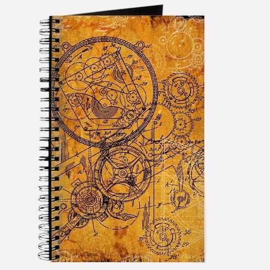 Clockwork Collage Journal