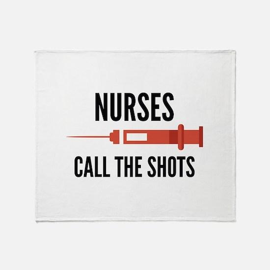 Nurses Call The Shots Stadium Blanket