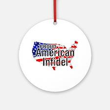 American Infidel Ornament (Round)