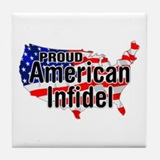 American Infidel Tile Coaster