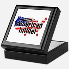 American Infidel Keepsake Box
