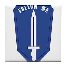 Infantry School.png Tile Coaster