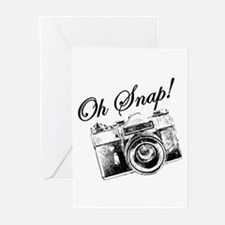 OH SNAP CAMERA Greeting Cards