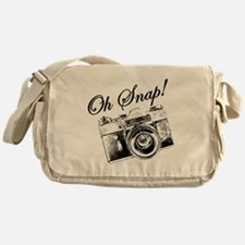 OH SNAP CAMERA Messenger Bag