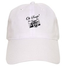 OH SNAP CAMERA Baseball Baseball Cap