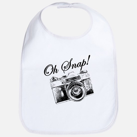 OH SNAP CAMERA Bib