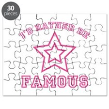 I'd Rather Be Famous Puzzle