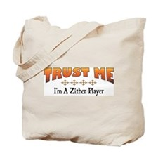 Trust Zither Player Tote Bag