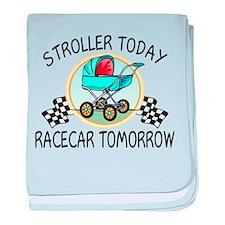 Cute Car racing baby blanket